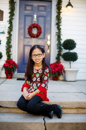 Lucie Christmas card shoot - 2015