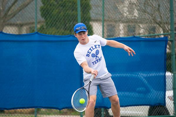 Boys Tennis Match Warm-ups 4-5-21
