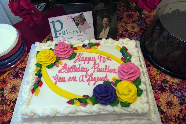 Pauline's 90th birthday