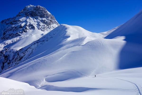 Höferspitze ski tours