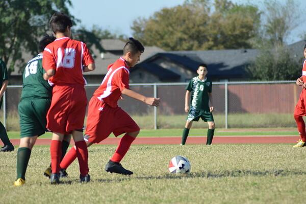 Boys B Team vs Gutierrez Soccer 2020