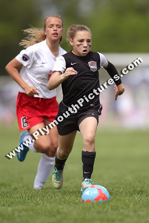 U11 9v9 Girls - MI Burn 04 White