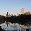 """North Pond, Chicago<br /> June 2010 Sunset<br /> """"Reflection at dusk"""""""