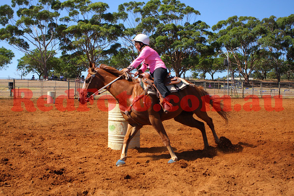 2009 02 07 Byford Rodeo Barrell