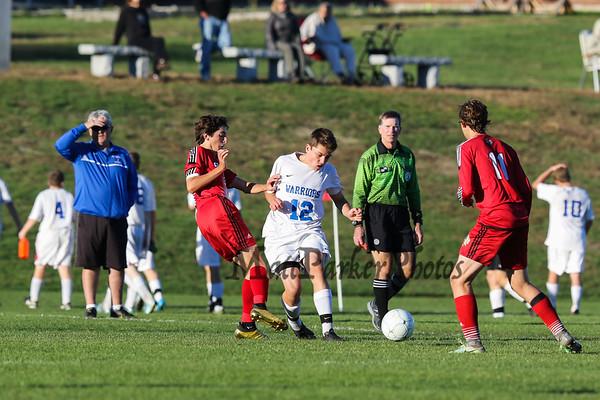 2016-10-14 WHS Boys Soccer vs Spaulding