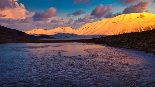 Castelluccio di Norcia  -  winter