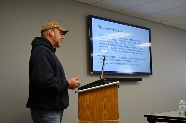 K9 Scent Theory and Detection with Mike Suttle