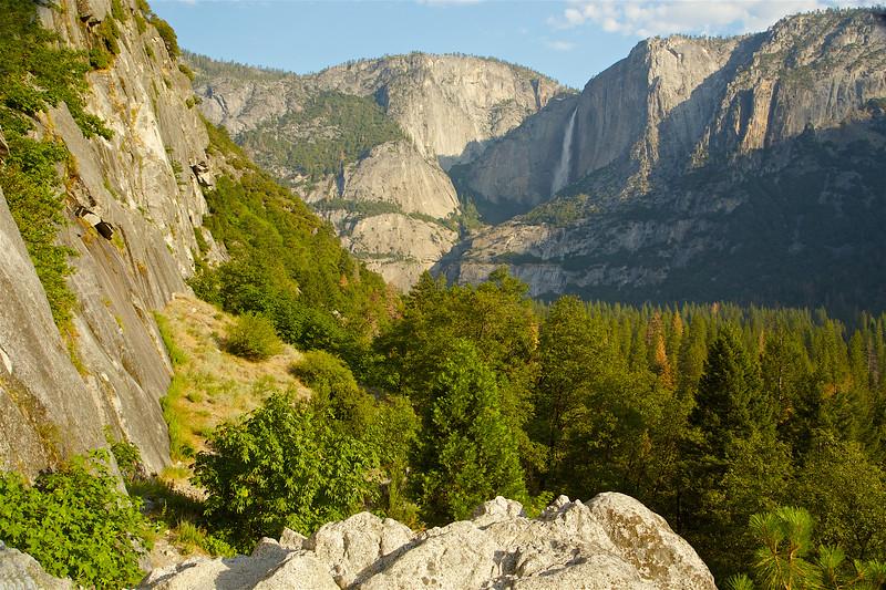 YOS-160629-0003 Lower Yosemite Falls