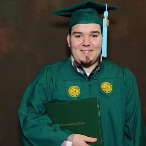 Derek's graduation pictures