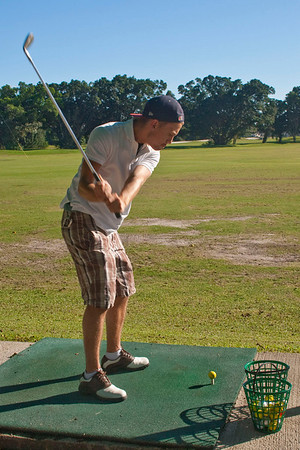 Florida 2009: Golfing with Benjamin