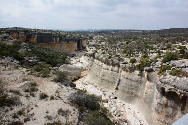 Eagle Nest River East of Langtry, Texas, on US 90
