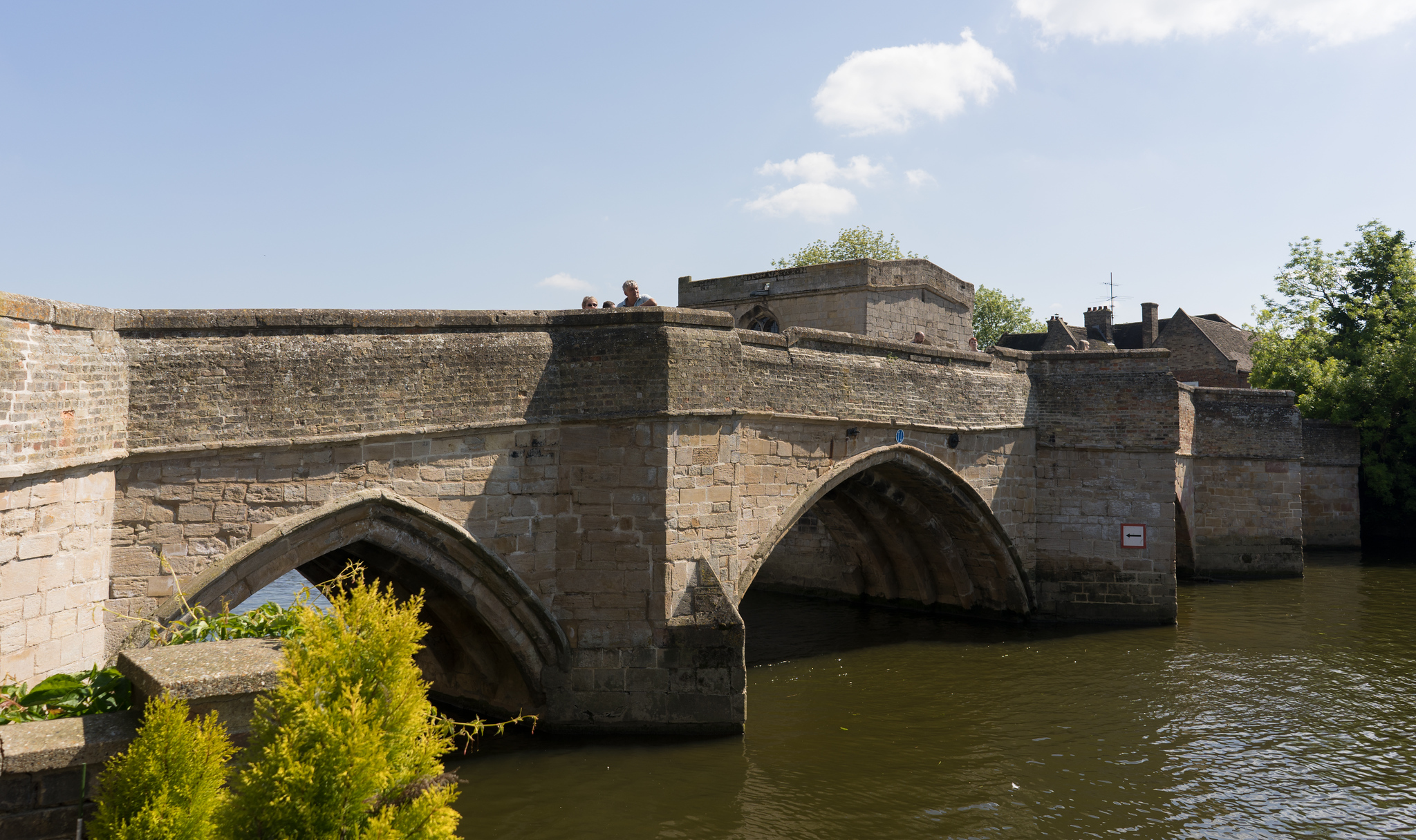 St Ives Bridge from the River Terrace Cafe, Cambridgeshire