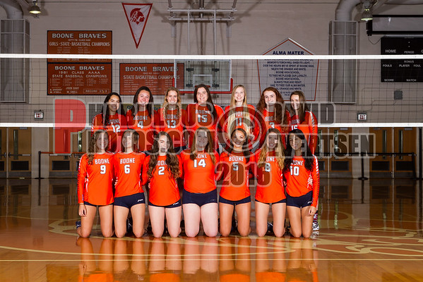 Varsity Volleyball #1 - 2016
