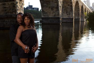 Laurence & Shamika Engagement Shoot