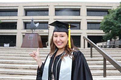 Julie UTSA Graduation
