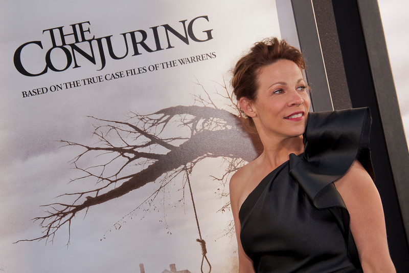 HOLLYWOOD, CA - JULY 15: Actress Lili Taylor arrives at the Los Angeles Premiere 'The Conjuring' at ArcLight Cinemas Cinerama Dome on Monday, July 15, 2013 in Hollywood, California. (Photo by Tom Sorensen/Moovieboy Pictures)