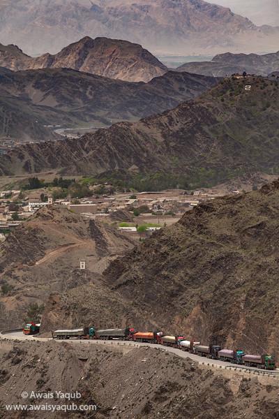 Silk Route, Pakistan Afghanistan border Torkhum Pakistan.