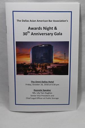 10-26-2018 DAABA Awards Night & 30th Anniversary Gala @ Omni