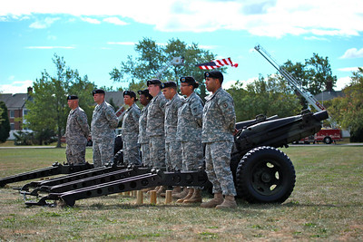 Fort Monmouth Flag Ceremony