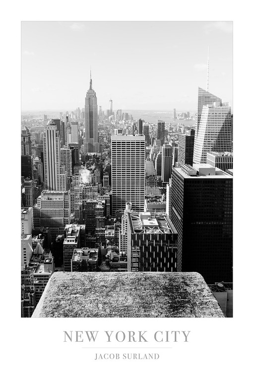 New York 2 BW