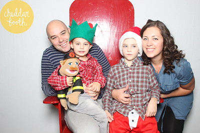 Abby Fire Hall Kid's Christmas 2014!