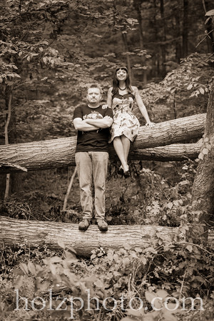 Jessica & Justin Creative Engagement Photos