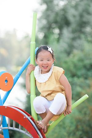 Samantha Kim Family Summer 2016