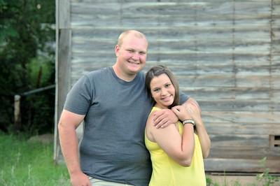 Megan and Garrett
