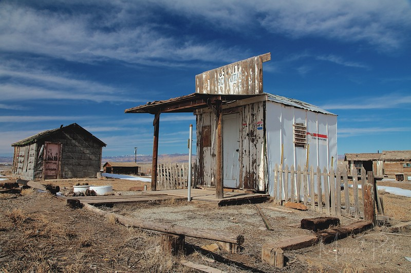 United States Post Office Cisco, Utah