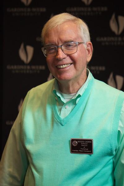 Faculty Emerita Luncheon and celebration; June 2016. Roger Gaddis