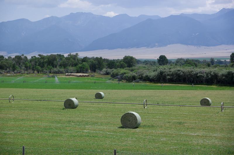 Southern Montana Hay Bales