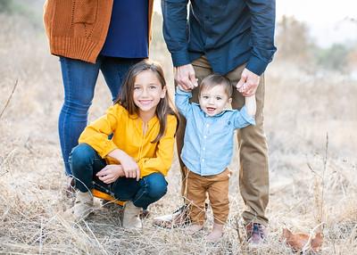 Marian Bear Park Fall Family Photographs for Holiday Card. Zilke Family 2019