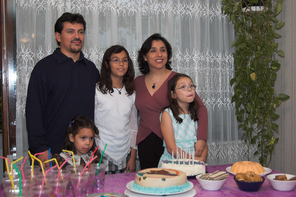 Cumpleaños de Lucía 2005