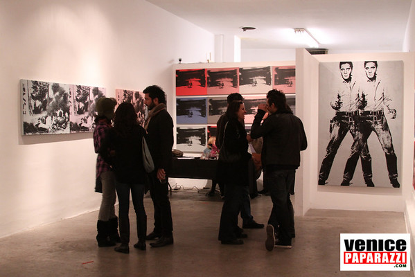THE GRIND GALLERY PRESENTS LOUIS WALDEN ANDY WARHOL'S SUPERSTAR YEARS  Photo by Venice Paparazzi.