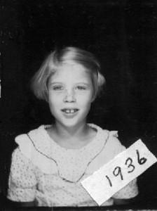 Joyce Herdrich, 1936