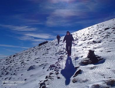 Start of Winter Trek Nov 2014