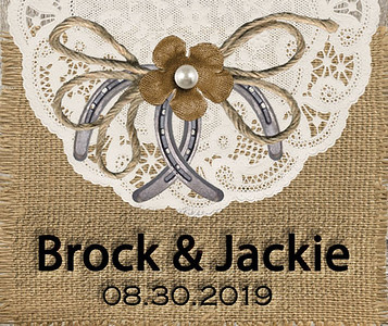 30-08-2019 ~ Brock and Jackie Wedding