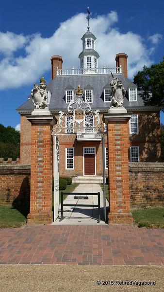 Governors Palace Williamsburg 1706