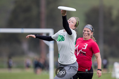 3-4-17 Oregon v Ohio State Women's Division at Stanford Invite