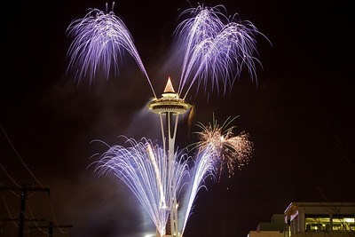 Seattle New Year 2012