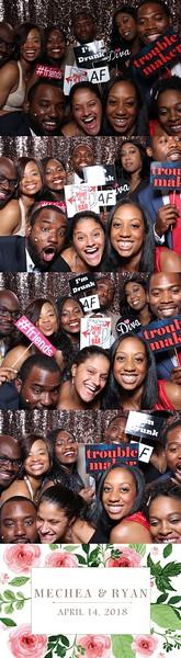 Mechea Medine & Ryan Morgan's Wedding 4 14 18