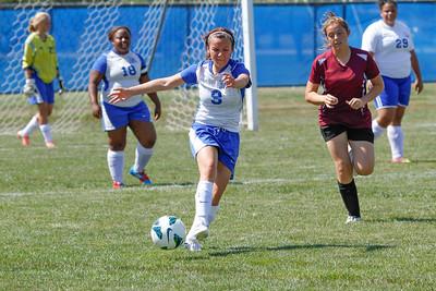 DHS JV Girls Soccer 08-24-2013