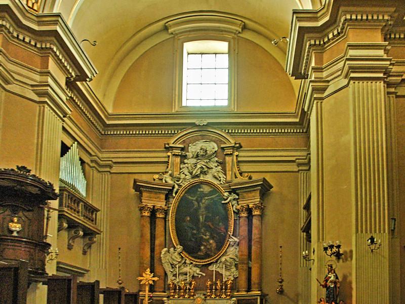 Castelgandolfo Bernini's Parish Church