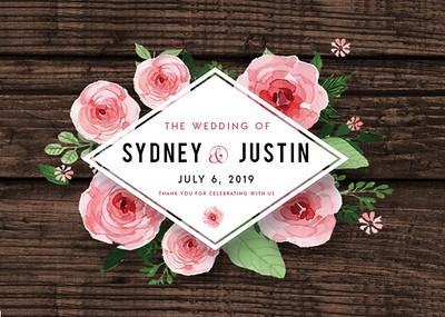 Sydney & Justin's Wedding!