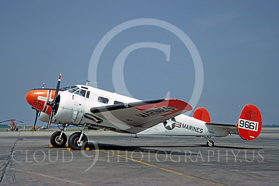 US Marine Corps Beech C-45 Navigator Military Airplane Pictures