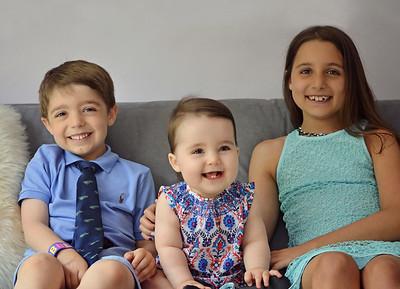 Arielle, Andrew, & Audrey 2015 Summer