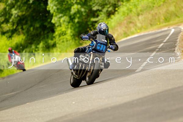 43 - Blue Honda