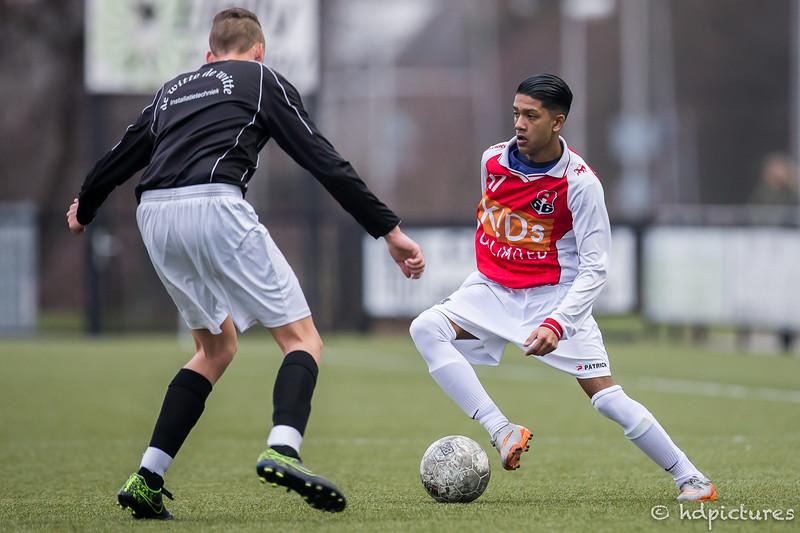28-01-2017: Voetbal: CKC O1902 v Alexandria'66 O-19-2: Rotterdam Seizoen 2016/2017