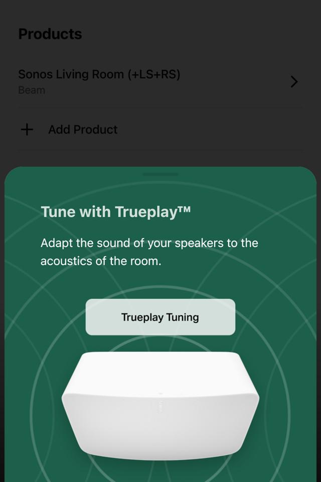 TruePlay Tuning
