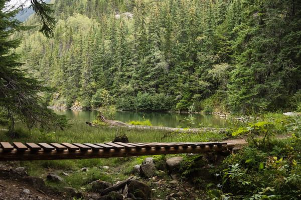 Upper Reid Falls Trail